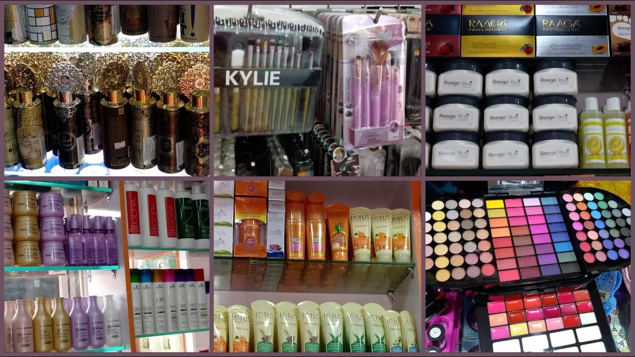We import all kinds of Cosmetics into our market
