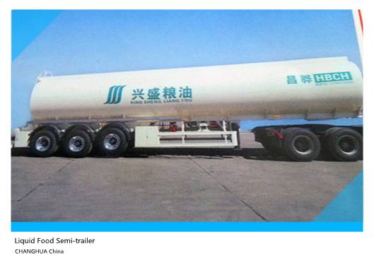 Liquid Food Transport Semi-trailer