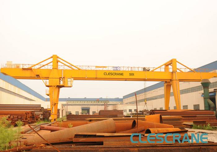 CWG Series Double Girder Gantry Cranes with Electric Winch