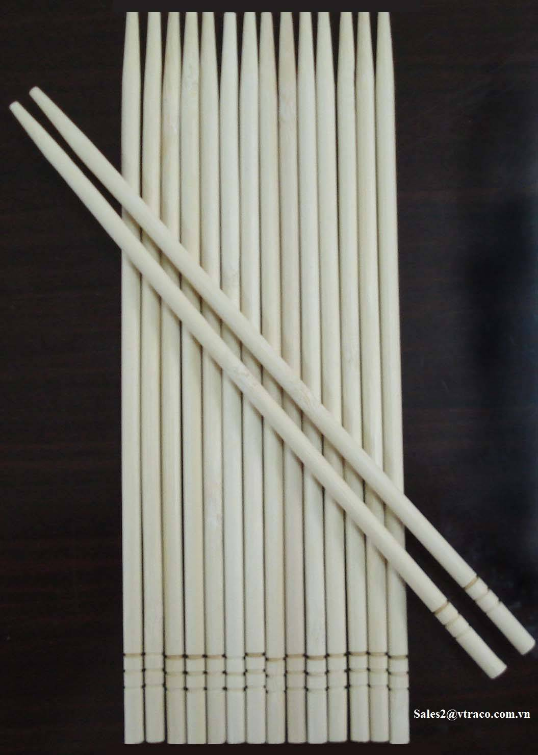 Bamboo chopsticks from Vietnam