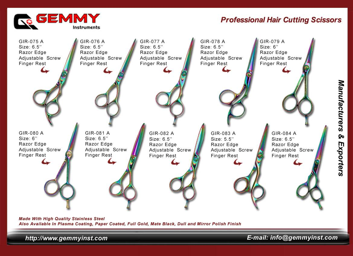 Barber Scissor-Hair Scissor-Professional Hair Cutting Scissor