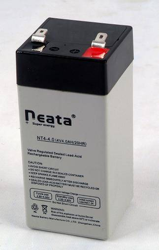 Torch battery 4V3.5Ah (ISO,CE,UL,ROHS,REACH)