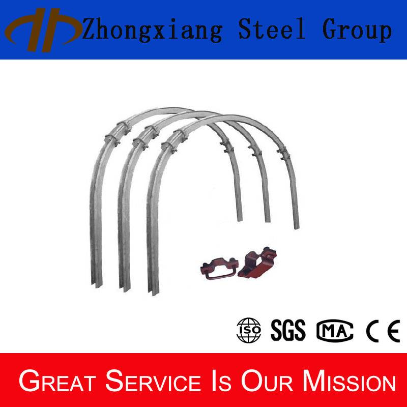 C channel steel supporting