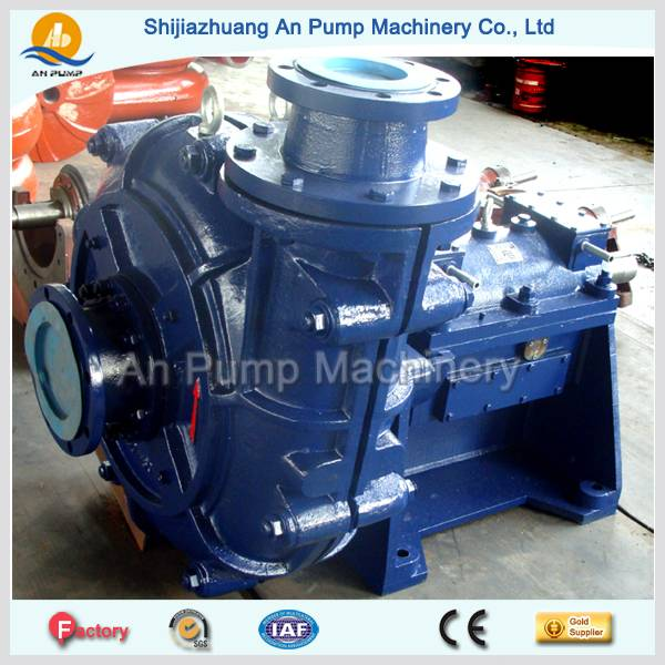 China manufacturer abrasive corrosive slurry transporting pump