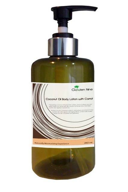 Moisturizing Coconut Oil Body Lotion with Tomato Extract