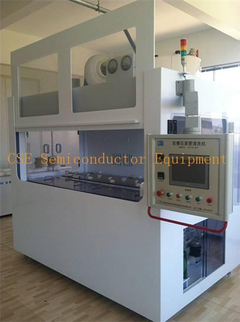 Tube Wash/Acid Cleaning System For Quartz Tubes