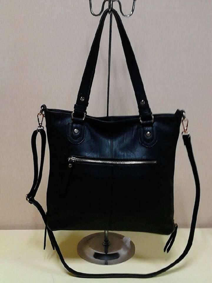 European style trendy genuine leather handbag