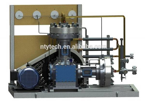 GL-type 20MPa Working Presssure Sulfur Trioxide Small Gas Compressor