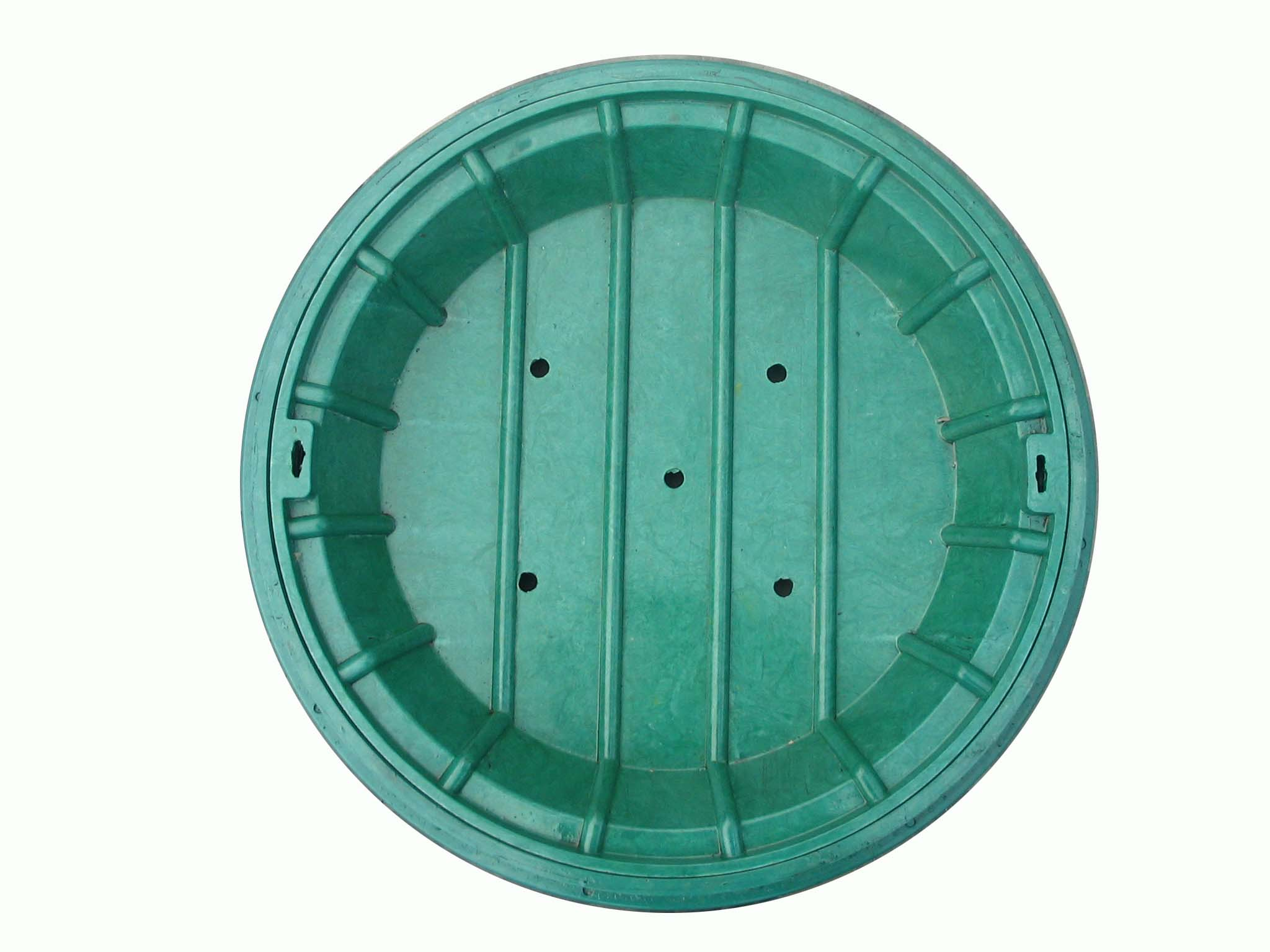 High quality anti-thef SMC(sheet molding compound) round manhole cover