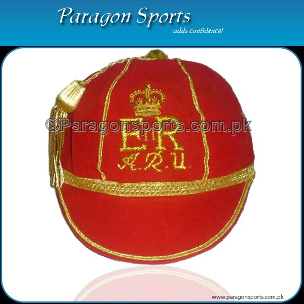 Hand Embroidered Honours Cap with Gold Braid & Tassel