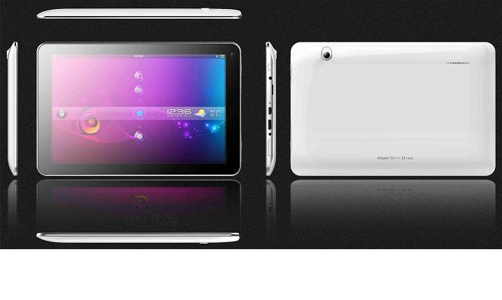 10.1-inch Tablet PC, RK3168 Cortex-A9 Dual Core, Android, Wi-Fi, 1GB DDR3/5,000mAh