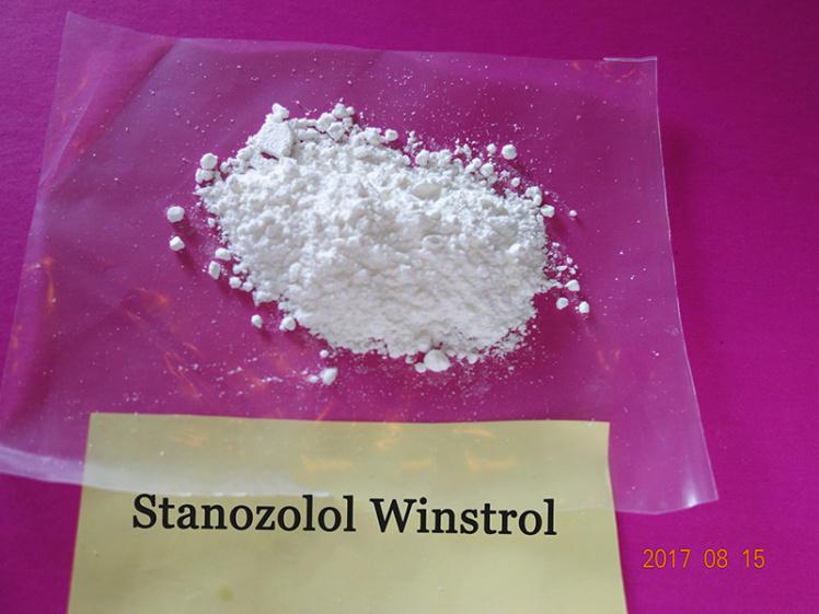 Top quality Stanozolol powder Winstrol powder oral anabolic steroids raw powder factory price