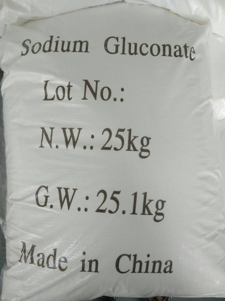 Sodium Gluconate for cement admixture