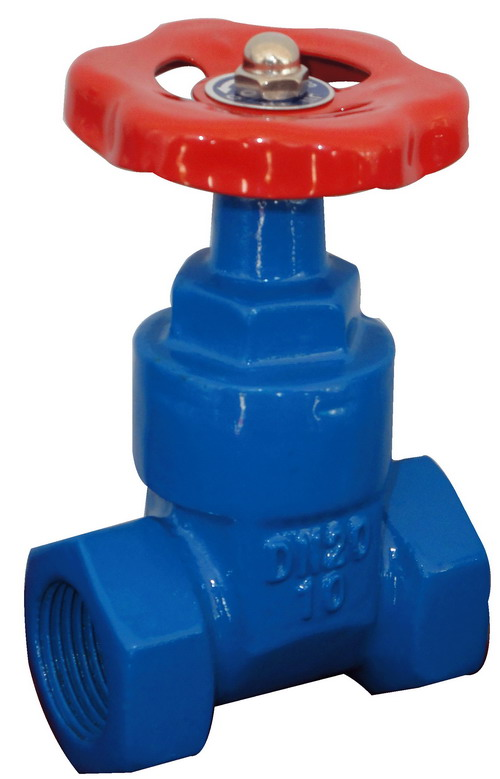 NON-RISING STEM GATE VALVE THREADED BONNET