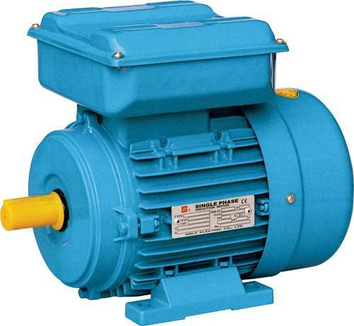 Sell Single-Phase Dual-Capacitor Asynchronous Motor ( Aluminum Housing )