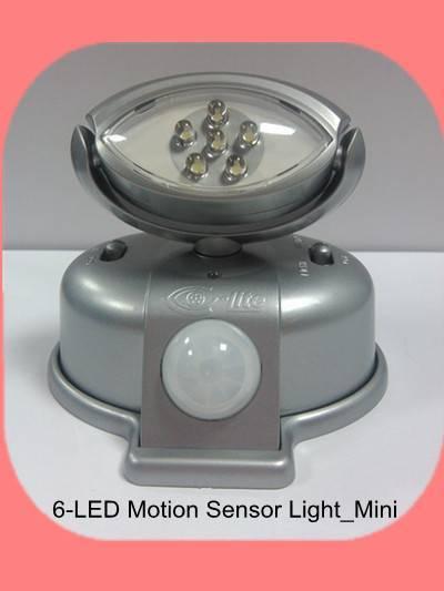 6-LED Motion Sensor Light