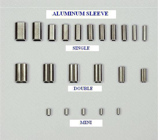 Aluminum sleeve (climp)