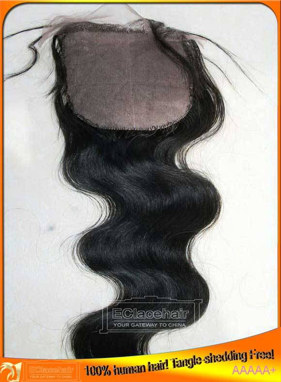 Virgin Indian Brazilian Human Hair Silk Base Lace Top Closure Wholesale, Factory Price