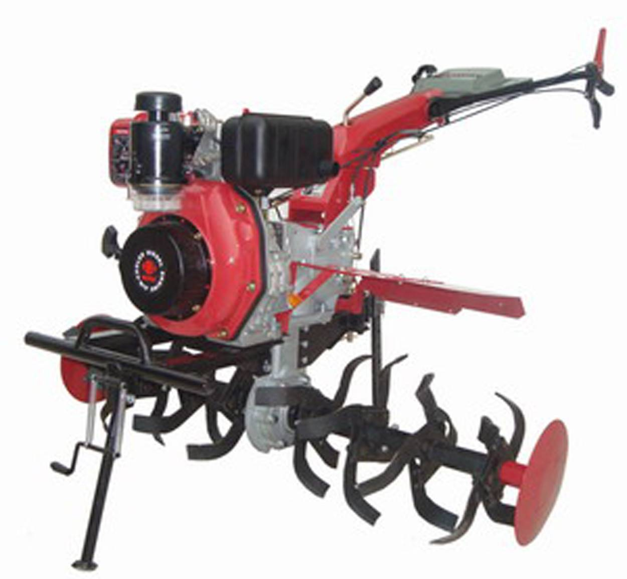 Gasoline Tiller with 186F/186FE diesel engine with high quality