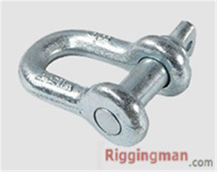 RIGGING SCREW PIN CHAIN SHACKLE U.S TYPE