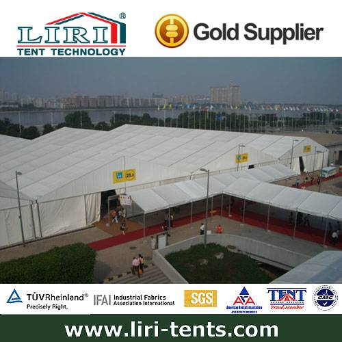 The largest warehouse tent factory in China