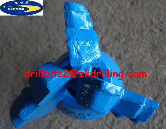 118mm Step drag bit for water well drilling
