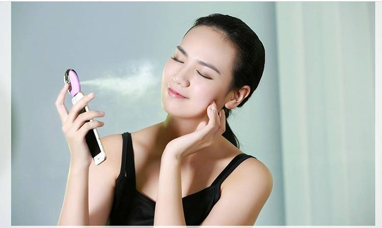 80ml ABS material moisturize spraying handy beauty facial humidifier