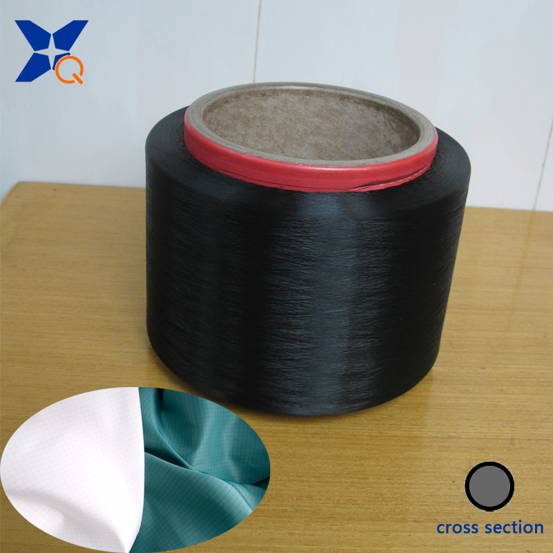 XTAA250 Carbon Inside Conductive Nylon Fiber Filaments Dust-Free Plant Gloves 40d-3f Outer Ring