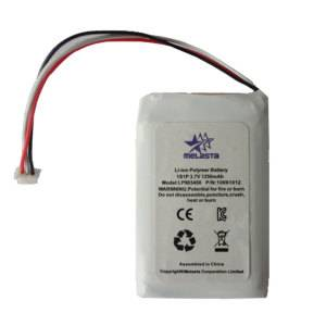 Environment-friendly 3.7V Lithium Polymer Battery 1250mAh 1S1P