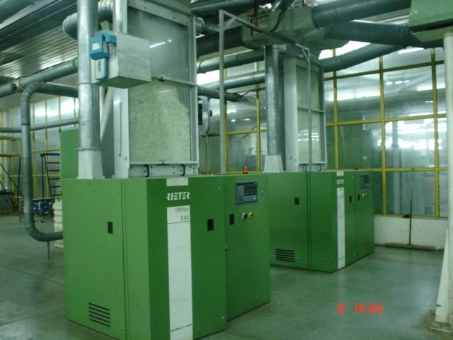 OPEN END SPINNING PLANT