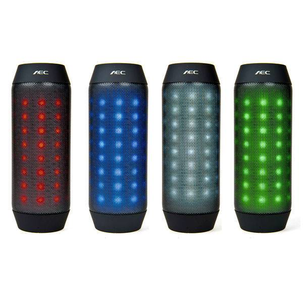 80 different color lights changing bluetooth speaker