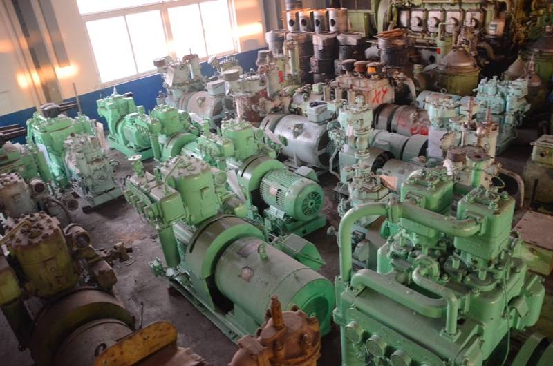 Stock marine air compressor units for sale: