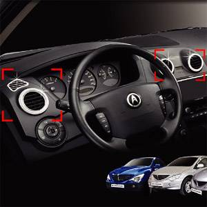 Ssangyoung Actyon Sports Interior duct chrome molding