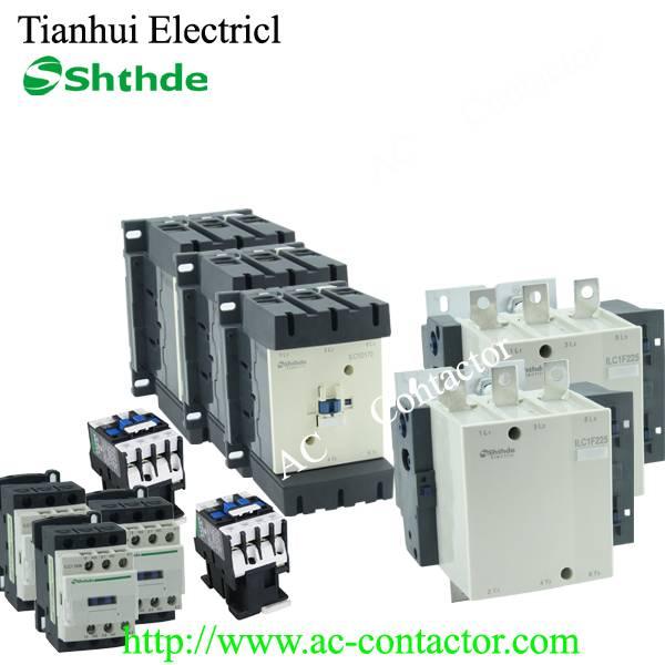 LC1-D(CJX2) series Electrical coil 220V/230V/240V/400V/500V/660V AC Contactor 9A-620A