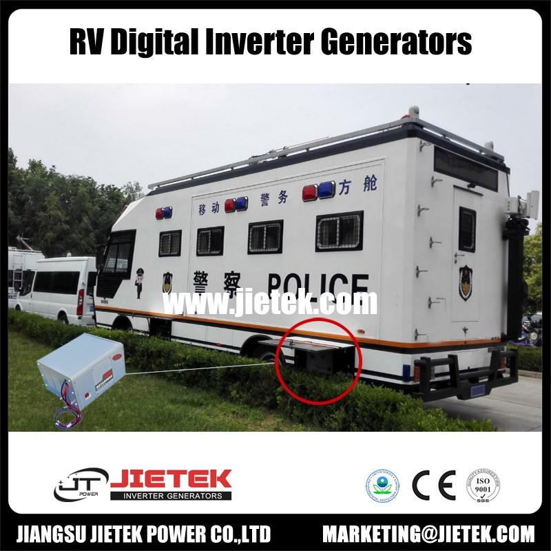 RV silence inverter generator set canopy