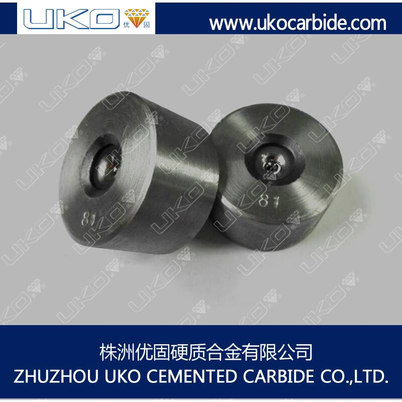 Drawing dies both shaped and round in Tungsten Carbide or PCD