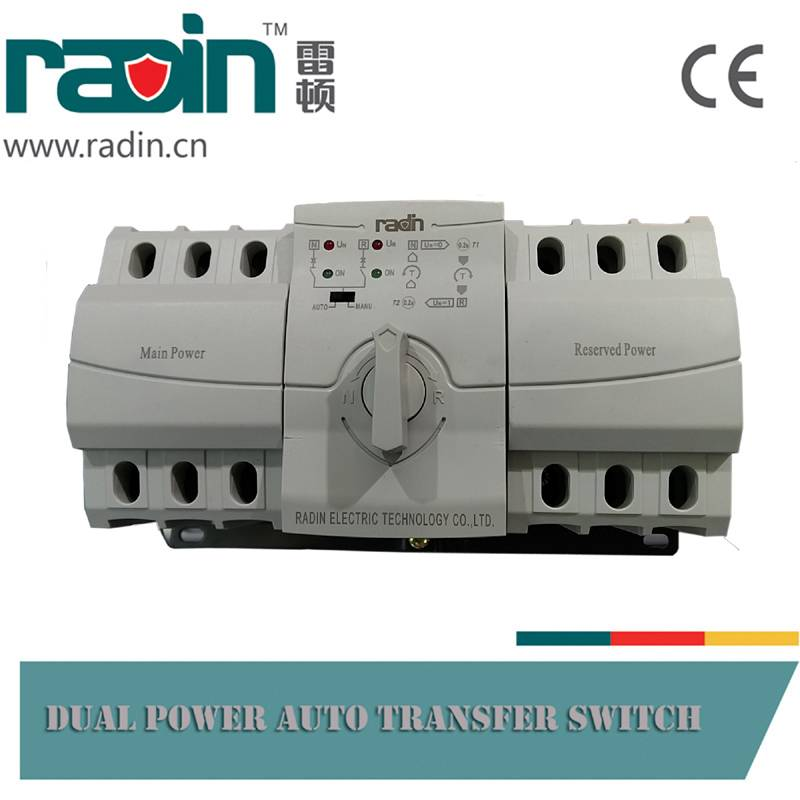 Rdq3-63A (Economic Type) 3p/4p Automatic Transfer Switch (ATS)