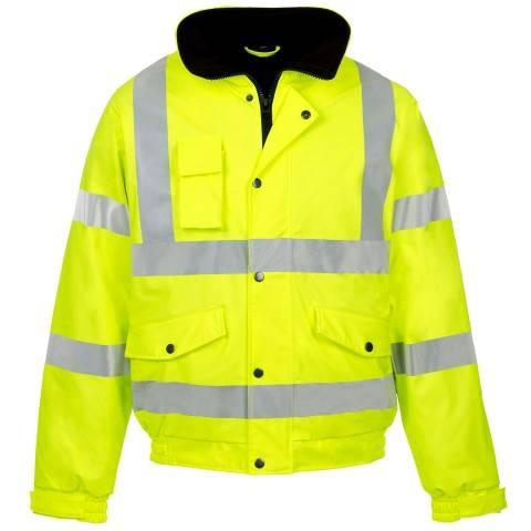 high reflective bomber jacket