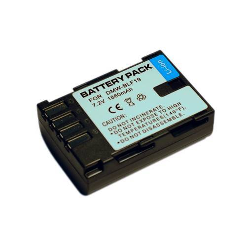 Camera Battery DMW-BLF19 for Panasonic DMC GH3