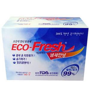 Ecofresh deodorant, deodorizer, charcoal
