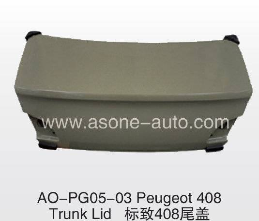 ASONE TrunkLid For Peugeot 408 Auto KIT OEM=8606.A7