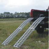 Aluminium ramp for ATV