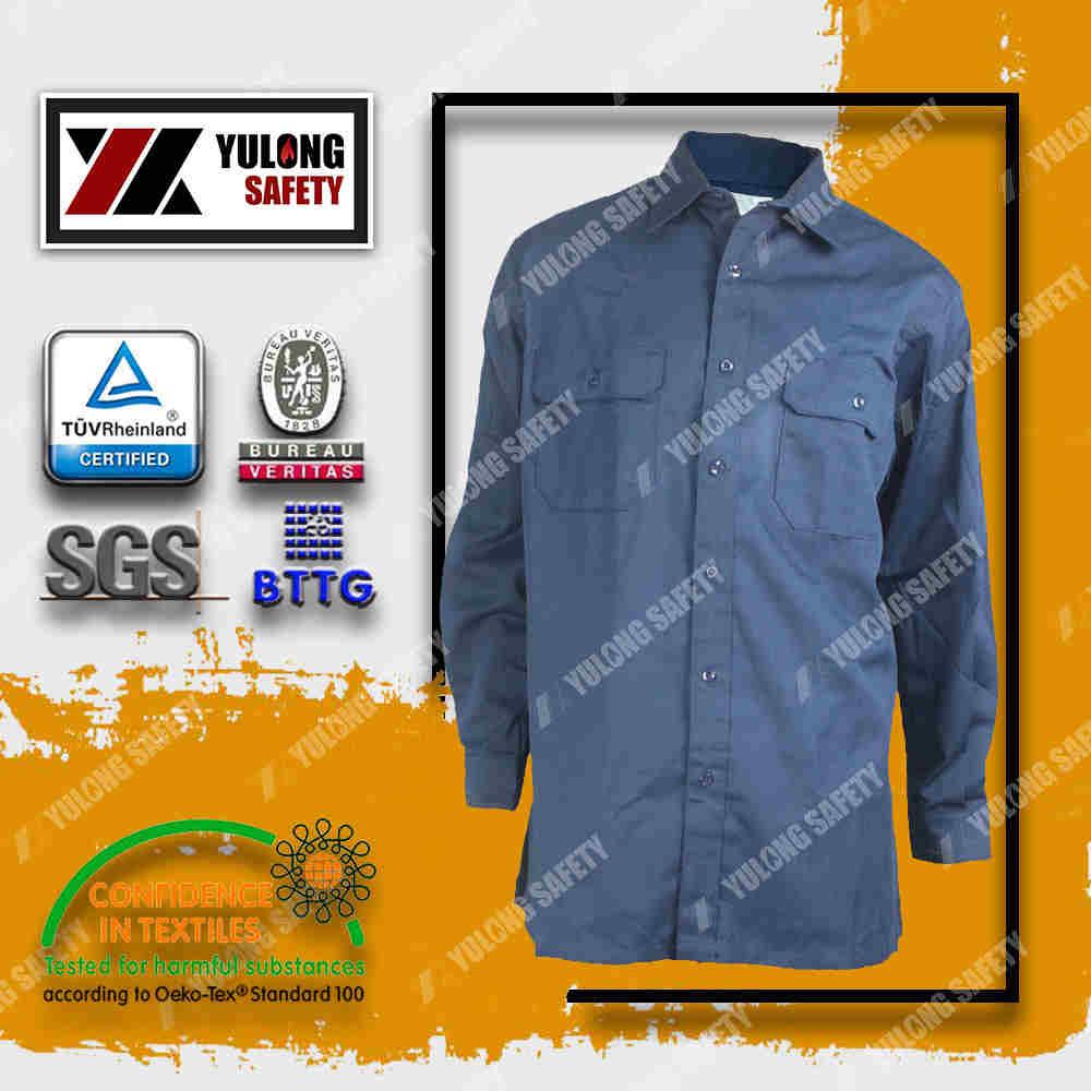 dark blue color flame retardant jacket