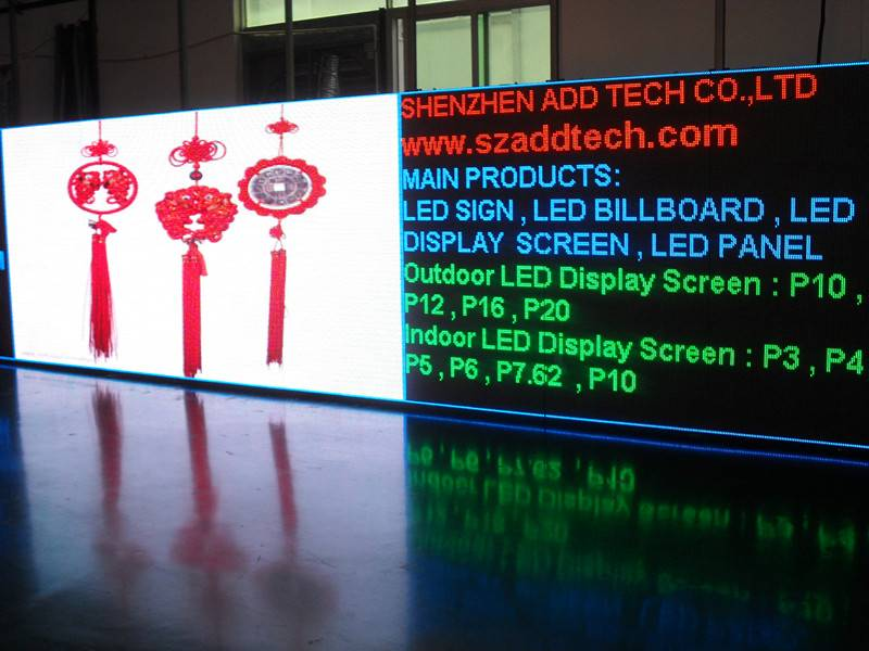 Outdoor RGB Full Color LED Display Screen