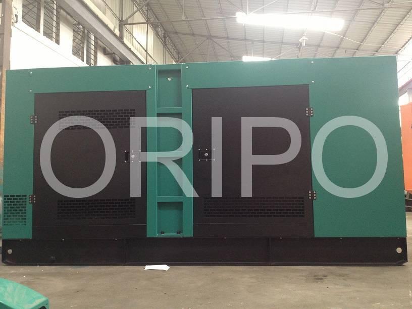 225kva 180kw silent generator set for sale