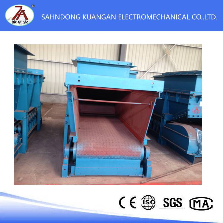 High quality Underground mining GLD Series Armored Belt Feeder for sale
