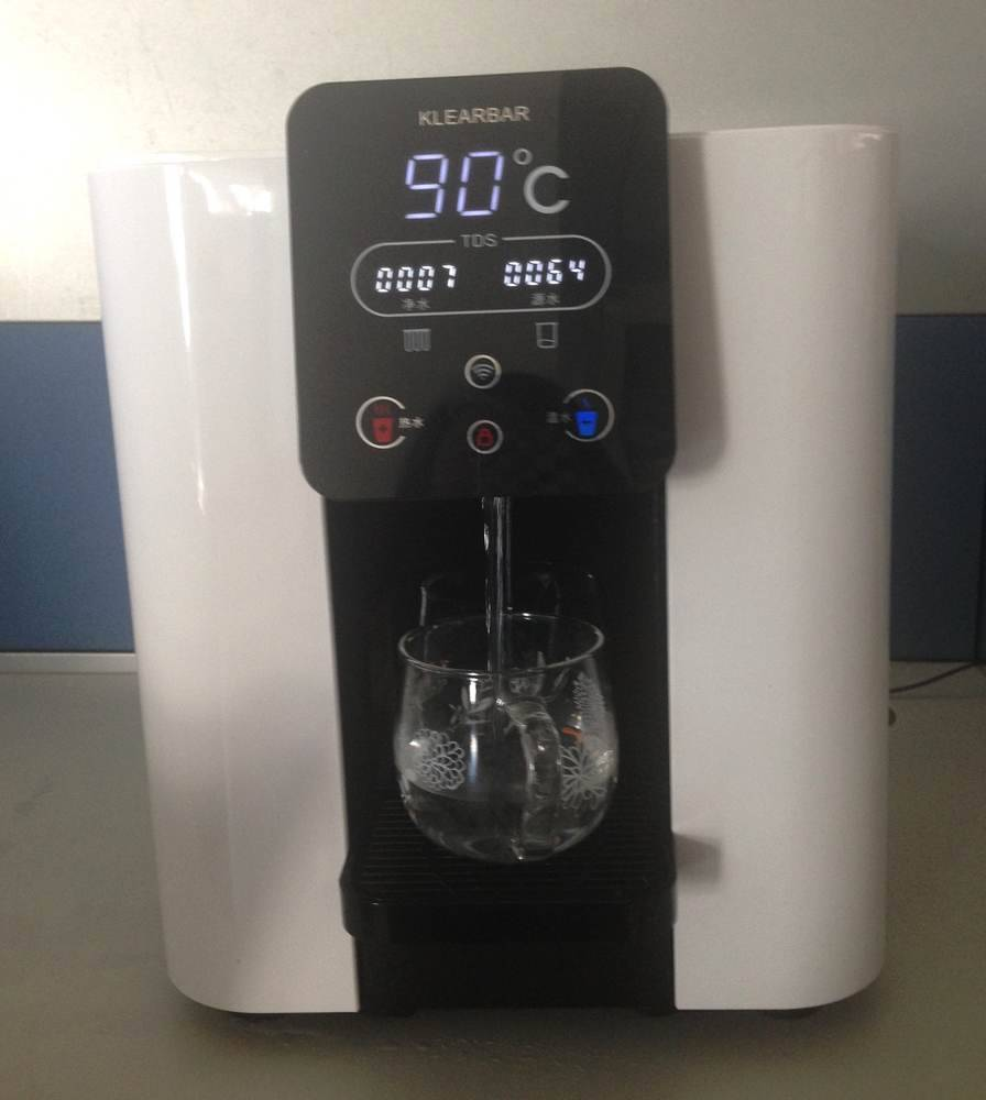 Tabletop Hot and Warm RO Water Dispenser with Wifi connection