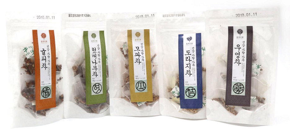 Korean Oriental tea