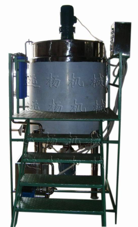 shampoo making machine