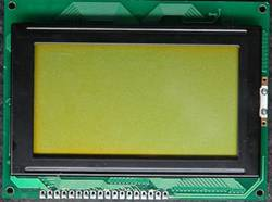 sell 128x64 .STN yellow,graphic lcd module ,cob